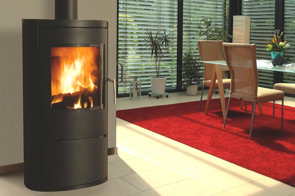 poele a bois mesa noir porte de b cher cheminee. Black Bedroom Furniture Sets. Home Design Ideas