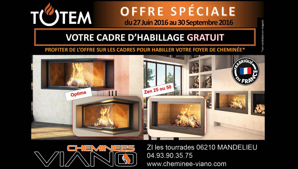 Promotion sur les cheminées design