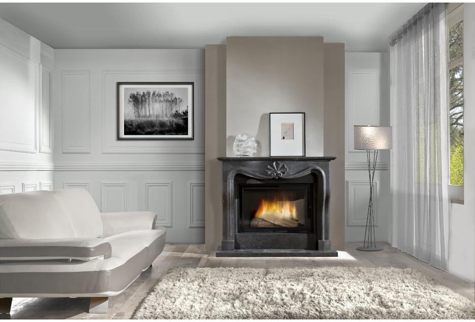 L 39 importance du bois cet hiver cheminee for Pierre refractaire pour cheminee