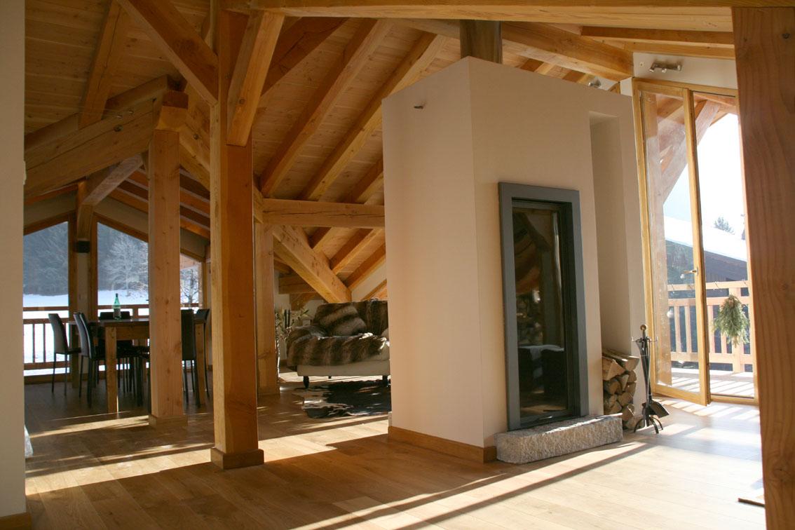 Plan Foyer Vertical : Installation foyer vertical design cheminee viano