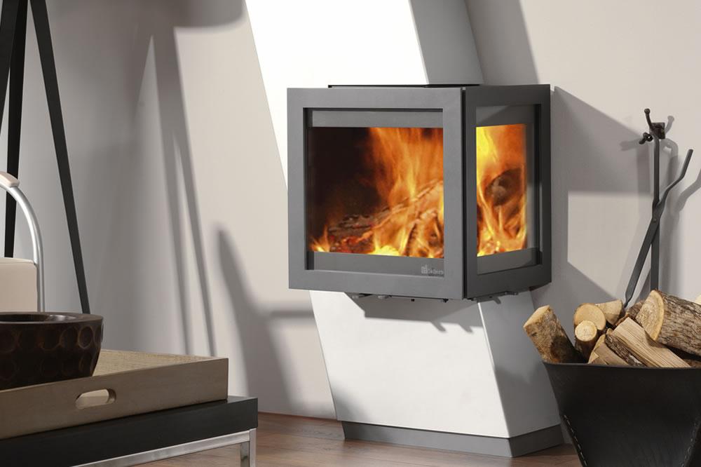 nos po les design ou contemporains chemin e. Black Bedroom Furniture Sets. Home Design Ideas
