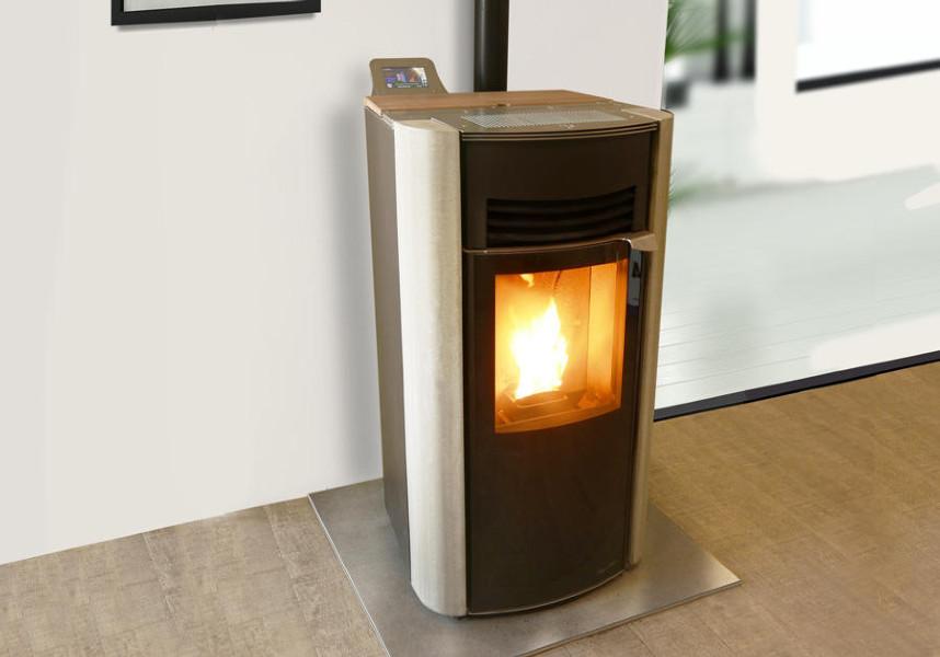 po le granul s h7 signature b ton hoben cheminee. Black Bedroom Furniture Sets. Home Design Ideas